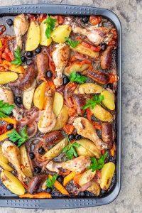 chicken dinner, healthy gluten free