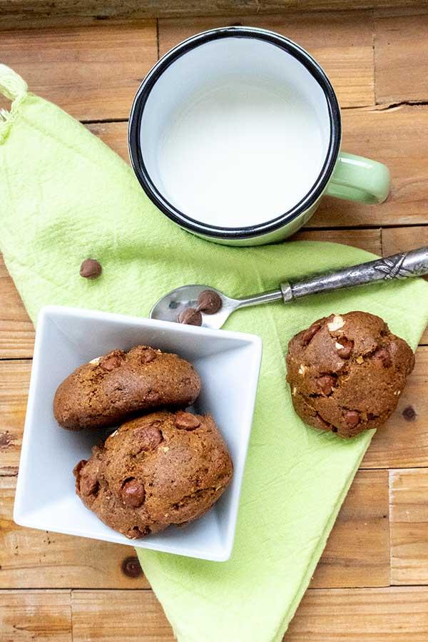 Gluten-Free Buckwheat Chocolate Chip Cookies