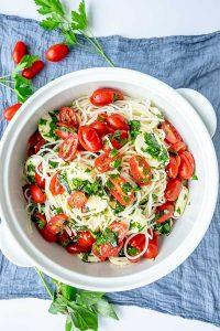 Spring Gluten-Free Pasta Dishes