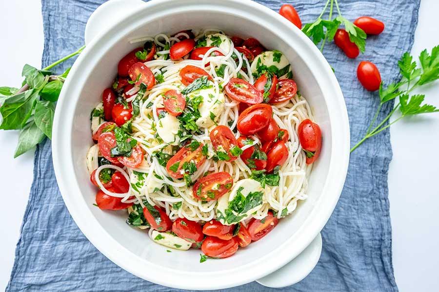 Gluten-Free Potluck Italian Pasta Salad