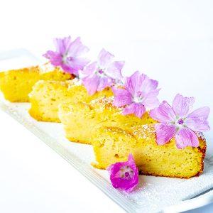 Gluten-Free Lemon Ricotta Pound Cake