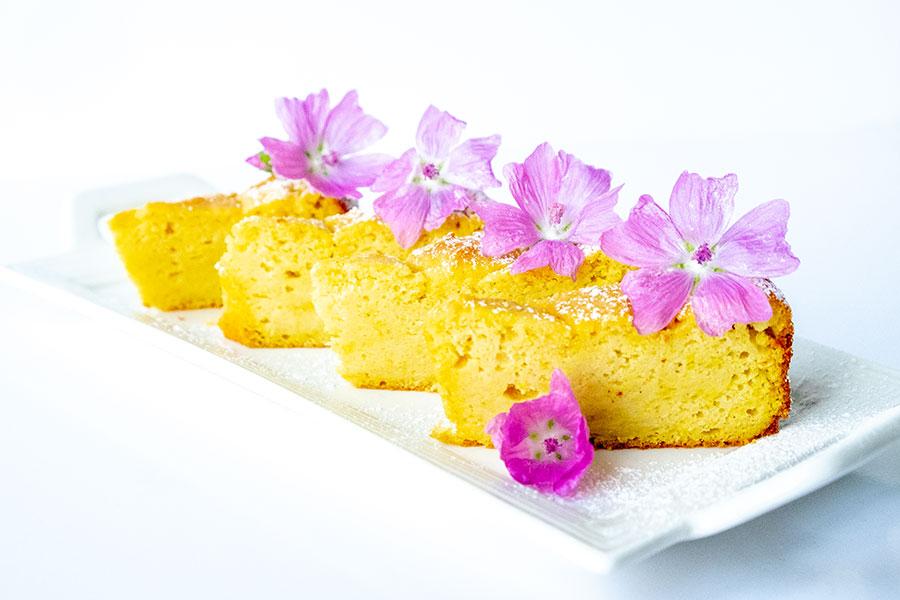 lemon ricotta pound cake, gluten free