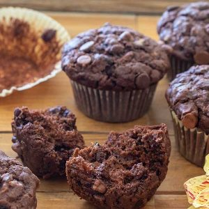 Better Than Bakery Gluten-Free Chocolate Chip Zucchini Muffins