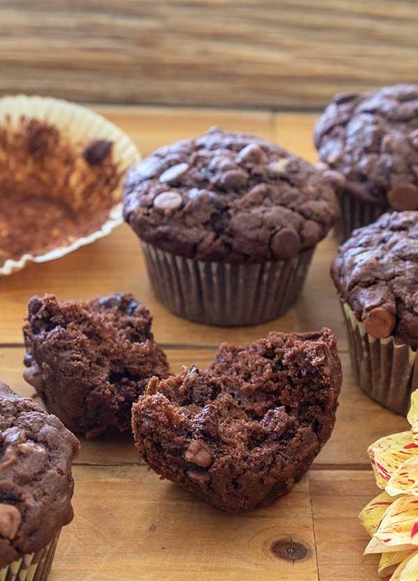 Better Than Bakery Gluten-Free Chocolate Chip Zucchini Muffins