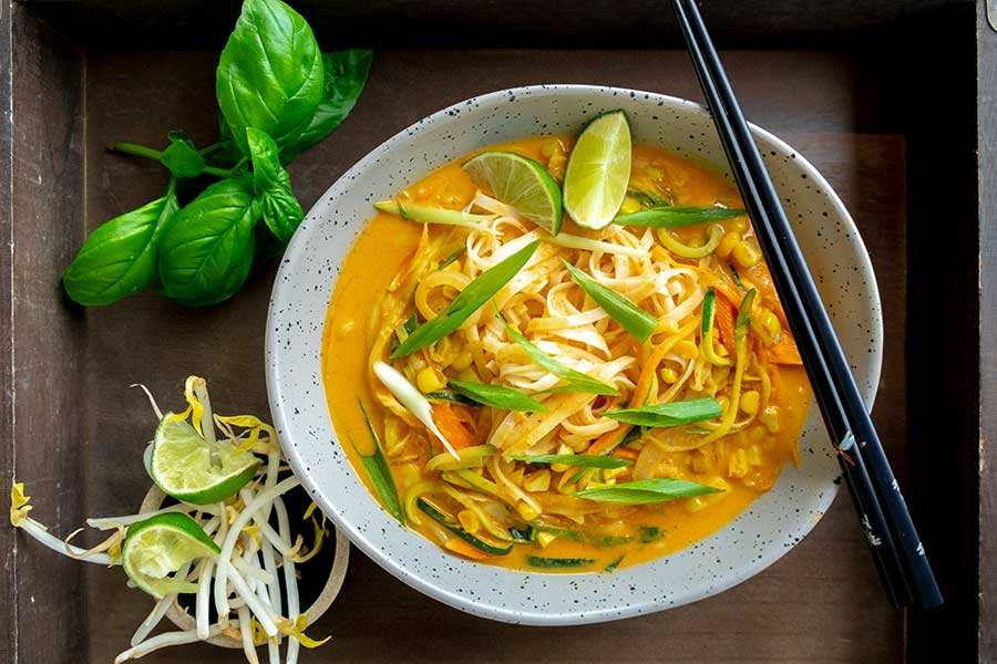 gluten-free curry noodles
