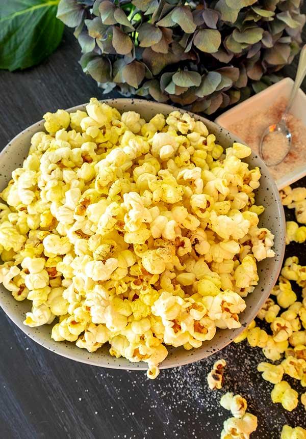Gourmet Homemade Popcorn (Gluten-Free)