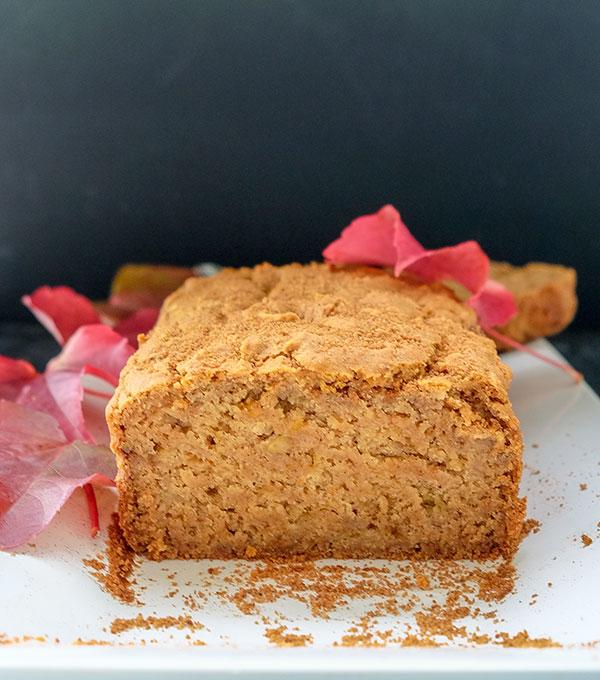 Apple Pie Bread – (Gluten-Free, Vegan)