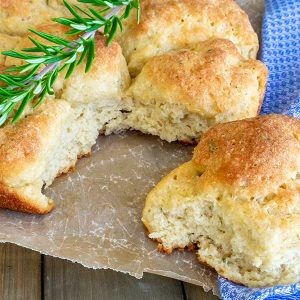 Best Pull-Apart Soft Rolls With Rosemary (Gluten-Free, Dairy-Free)