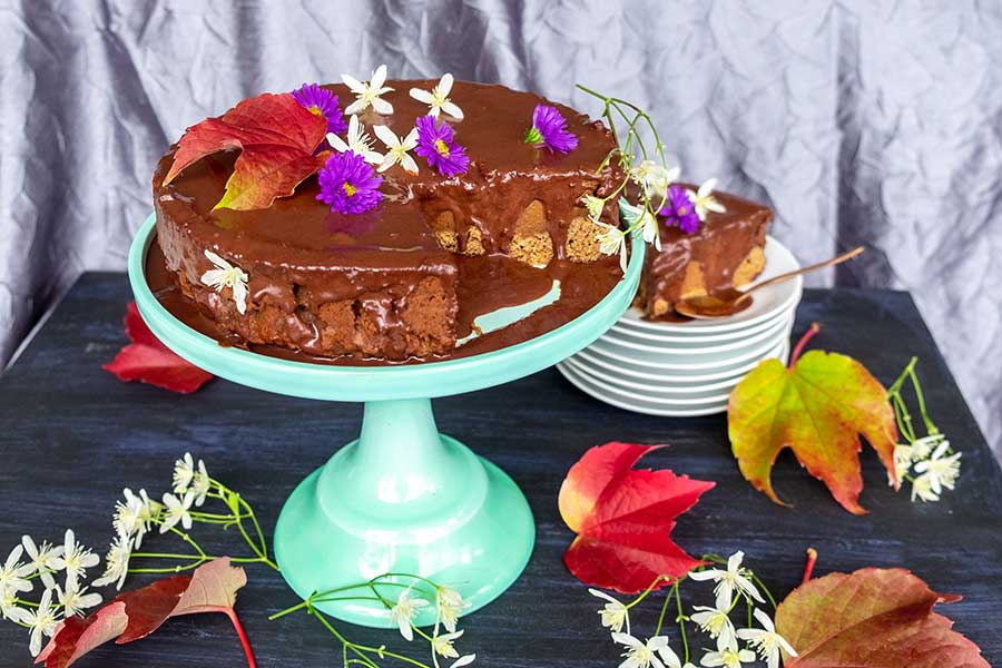 pumpkin cake, gluten free
