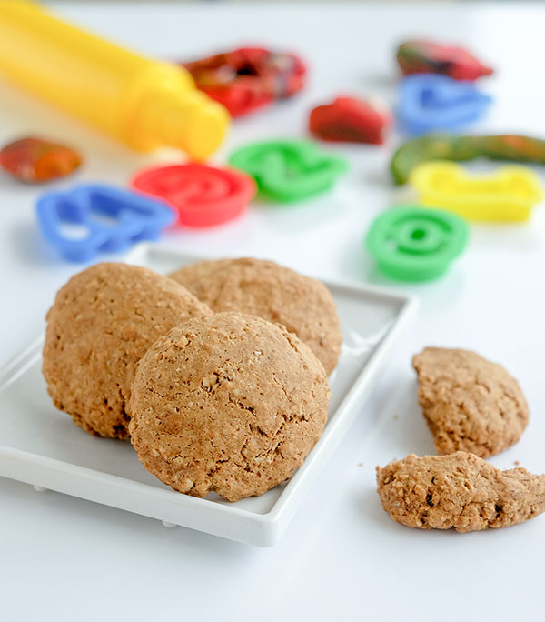 Gluten-Free Oatmeal & Almond Butter Cookies for Kids