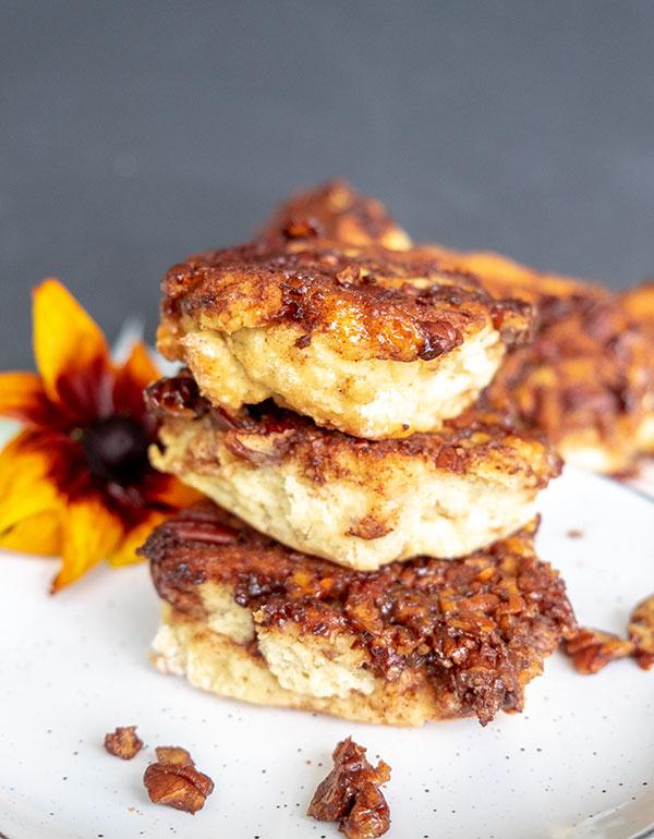 Pull Apart Sticky Pumpkin Spice Buns – Gluten Free