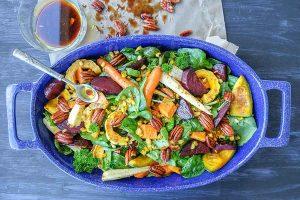 warm fall salad