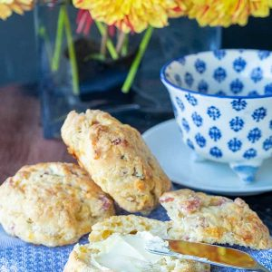 Best Gluten-Free Ham & Cheese Biscuits
