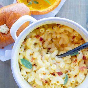 Gluten-Free Pumpkin Mac And Cheese