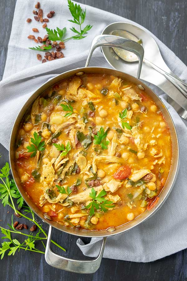 Turkey And Chickpea Moroccan Stew (Gluten-Free)