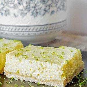 Gluten-Free Key Lime Squares (Dairy-Free)