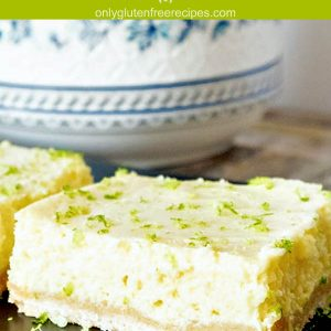 Gluten-Free Key Lime Squares (Dairy-Free)
