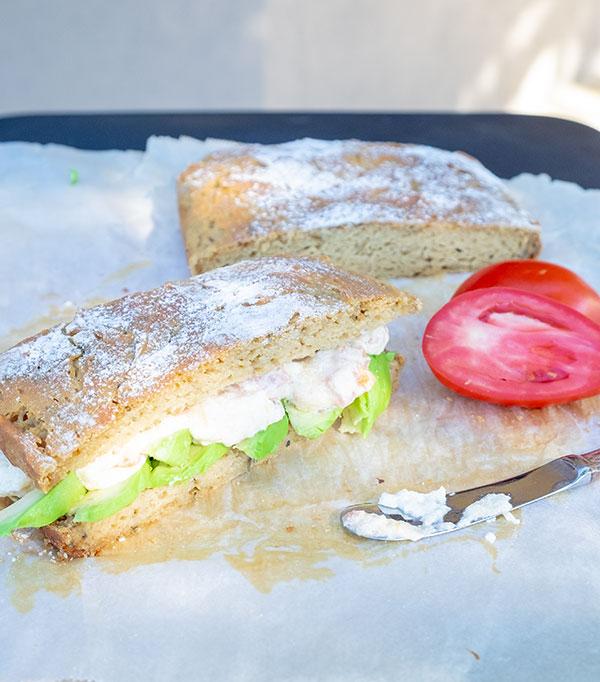 ciabatta bread, gluten free