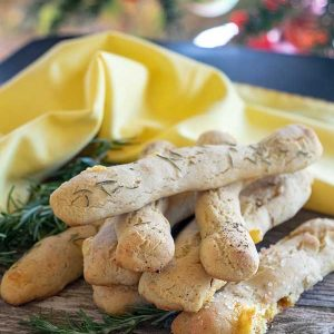 Gluten-Free Cheese Breadsticks Recipe