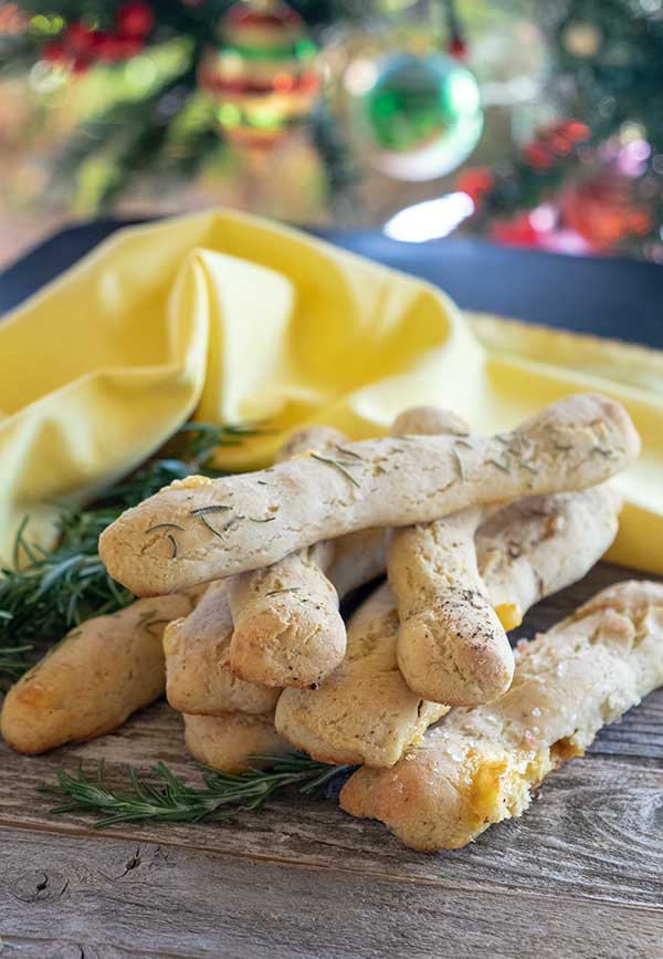 Gluten-Free Cheese Breadsticks Recipe