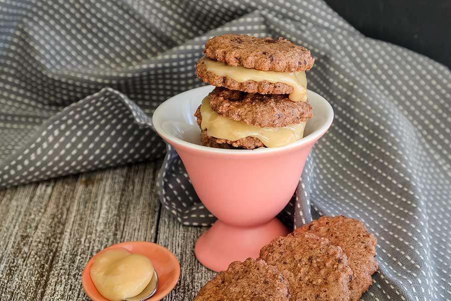 sandwich cookie, gluten free