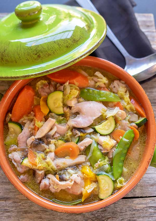 30 Minute Healthy Chicken Stew (Paleo, Gluten-Free, Whole30)