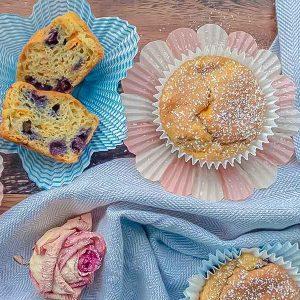 Gluten-Free Carrot Blueberry Muffin