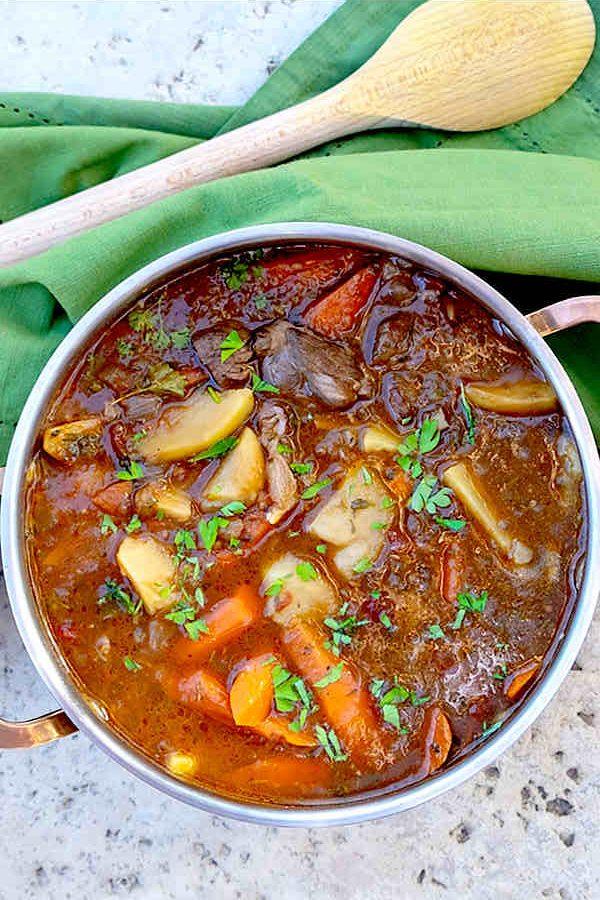 Irish Lamb Stew Recipe {Gluten-Free}
