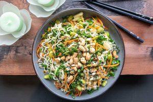 ramen salad, vegan, gluten free