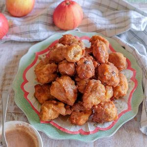 Gluten-Free Apple Raisin Fritters {Dairy-Free}