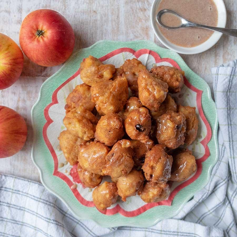 apple fritters, gluten free