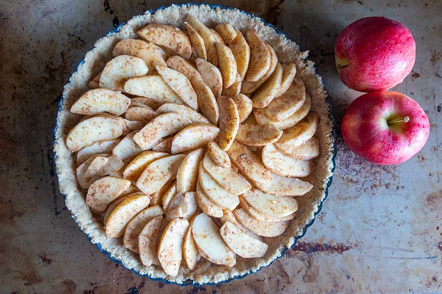 apple tart, gluten free