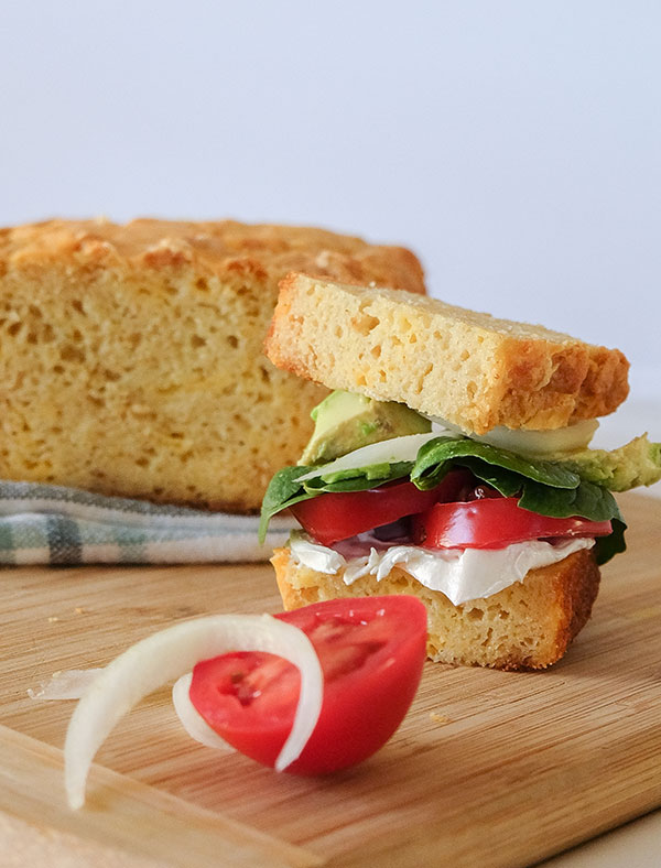 Gluten-Free Buttermilk Cheese Bread