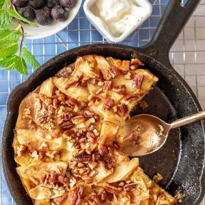 Gluten-Free French Toast Apple Strata