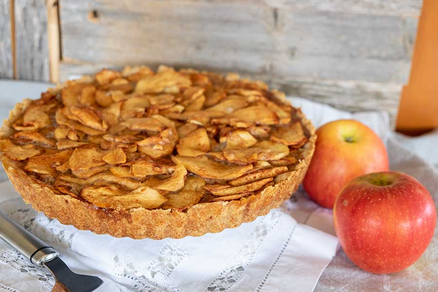 caramel apple pie gluten free