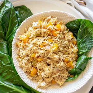 Vegan Dirty Rice {Gluten-Free}
