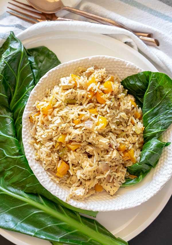 Vegan Dirty Rice {Gluten-Free}