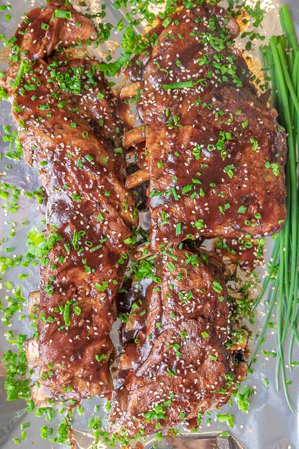 Instant Pot Best Sticky Ribs Recipe {Gluten-Free}
