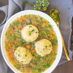 Gluten-Free Matzo Ball Soup Recipe