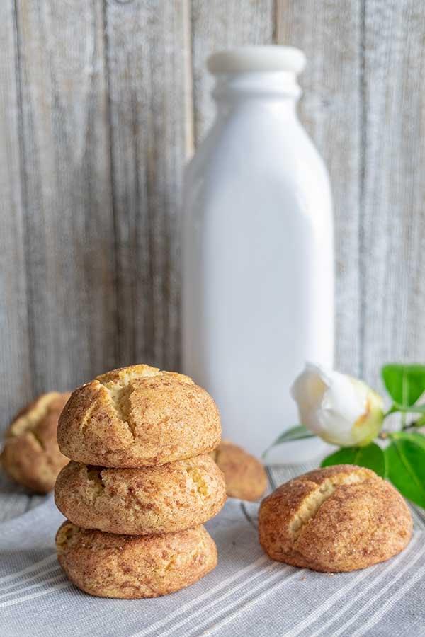 Healthier Gluten-Free Snickerdoodles Recipe