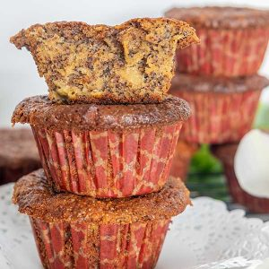 Grain-Free Poppy Seed Apple Muffin