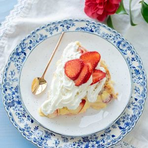 Gluten-Free Strawberry Cream Pie