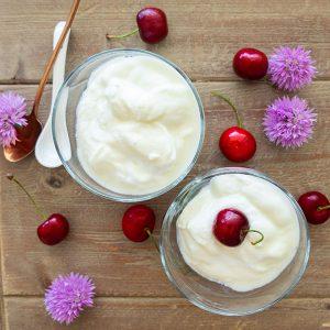 Homemade Coconut Cashew Vanilla Yogurt (Vegan, Gluten-Free, Soy-Free)