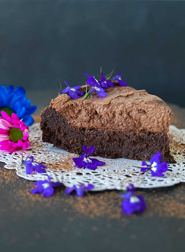 2 Layer Grain-Free Chocolate Cake (Gluten-Free, Nut Free)