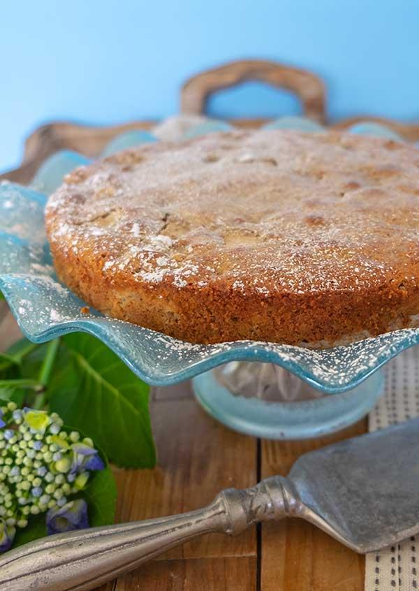 pear cake, gluten free