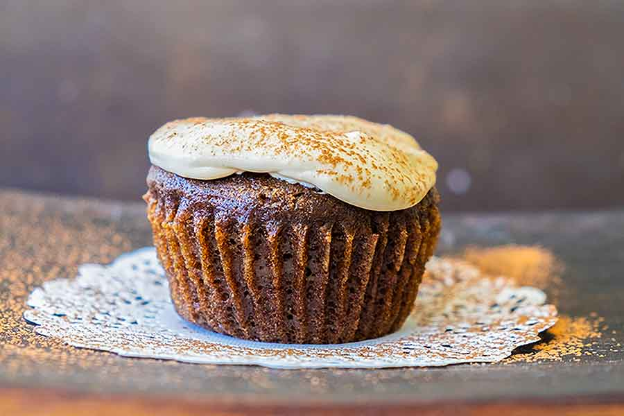 tiramisu cupcake, grain free