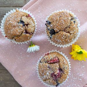 Gluten-Free Triple Berry Muffin