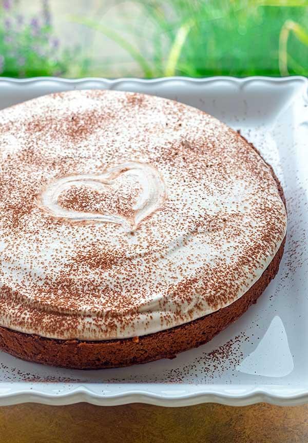 Gluten-Free Baked Tiramisu Cheesecake