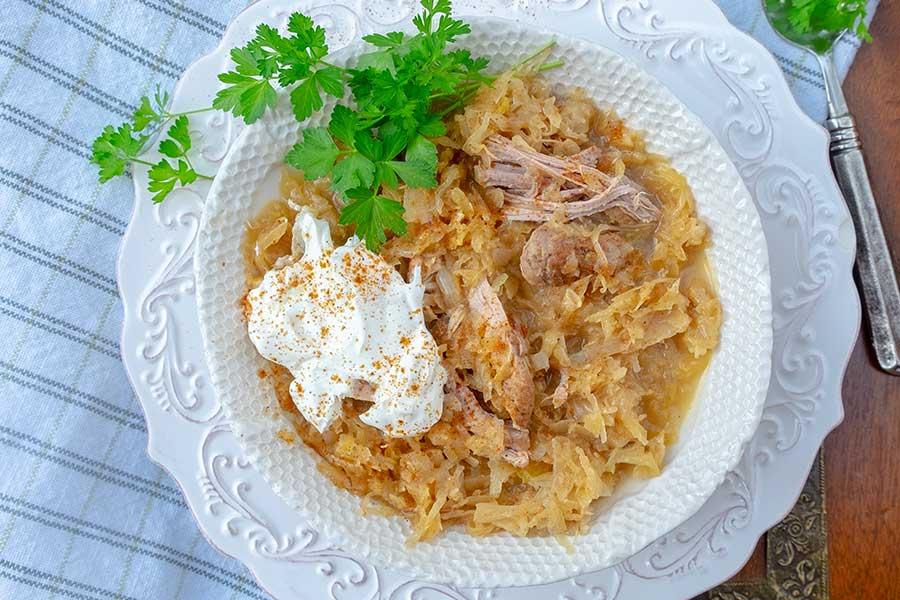 pork sauerkraut instant pot