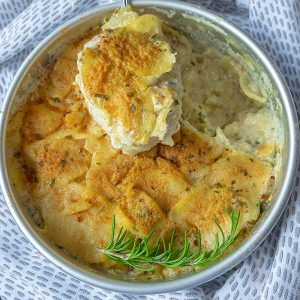 Instant Pot Vegan Scalloped Potatoes